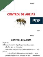 manejo y control de abejas  HORACIO - copia