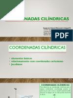 1 - Coordenadas SÓ CILINDRICAS TEORIA