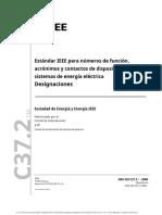 C37.2™-2008 traduccion