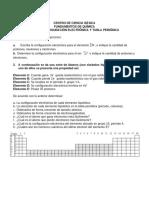 CONFIGURACIÓN ELECTRÓNICA-T.P