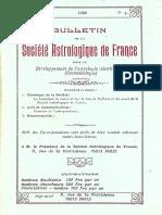 Bulletin de la SAF - N°4 4ème année 1990