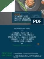 Curso de Costos Gastronómicos Con Francisco Sovero Dávila