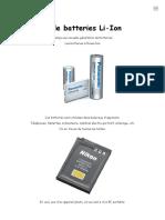 Un Chargeur de Batteries Li-Ion