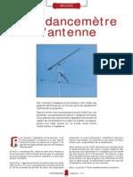 Impédancemetre Antenne