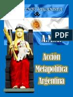ACCIÓN METAPOLÍTICA ARGENTINA 2021