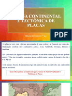 Placas tectônicas e deriva continental
