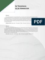 Aproximacion Teologica al Documento de Aparecida_