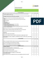 Checklist nr 31