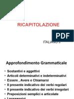 Ricapitolazione Italiano II