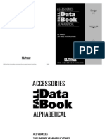 2001 Mopar Accessories Data Book