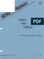 USCD p-System Part Three p-System Utilities