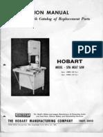 Hobart model 5216 Meat Saw