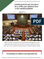 Diputados aprueban proyecto que crea nuevo royalty al cobre y al litio, pero gobierno hace reserva de constitucionalidad - La Tercera