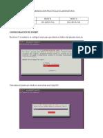 Documentación práctica de laboratorio