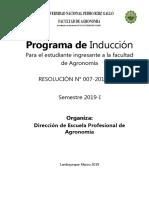 EJEMPLOS DE PROYECTO DE INVESTIGACIÓN GABY PROGRAMA DE INDUCCICON AGRONOMIA
