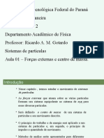 Sistemas de partículas - DINAMICA