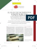Martínez-Almeida, J.L. Plan de yacimientos visitables. 2008