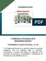 Generalidades Seguridad Social