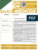 Código Deontológico Médico