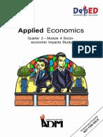 Applied Economics11_q2_m4_Socio-economic Impacts Study_v3 (3)