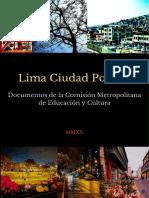LIMA CIUDAD POÉTICA