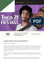 Toca 21 v 1.5 Guitarra Clase
