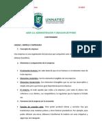 CUESTIONARIO UNIDAD I PYMES