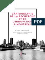 CARTOGRAPHIE de la recherche à Montréal