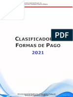 Clasificador de Formas de Pago 2021 19-10-20