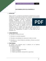TRASTORNOS GENERALIZADOS Del desarrollo semi completo