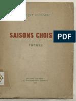 Saisons Choisies Poémes_VICENTE HUIDOBRO