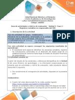Guía de actividades y rúbrica de evaluación - Unidad 2- Fase 2 - Registros contables no responsable del IVA