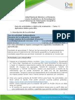 Guía de actividades y rúbrica de evaluación - Unidad 2 - Tarea 3 - Aplicativo Online para SIG