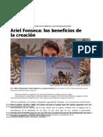 Ariel Fonseca- los beneficios de la creación | Portal del Arte Joven Cubano