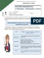 Dpcc. Evaluación Diagnóstica - Vi