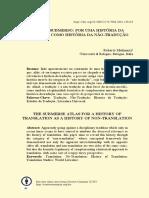 Roberto Mulinacci_história da não tradução