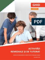 Activitati Remediale Si de Tutorat Ghid Clasele IX-XII
