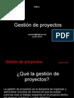 Gestores de proyectos