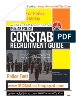 Punjab Police Constable Jobs Test Guide Book In PDF-Copy