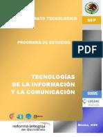 TICS programa actualizado 2009