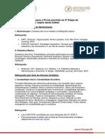 Bibliografia Doutorado Profissional 2