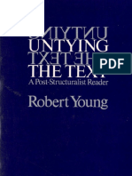 Robert JC Young Ed Untying the Text 1981