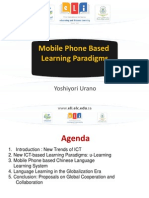 Mobile Phone Based Learning Paradigms