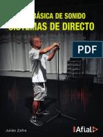 Guía básica de sonido. Sistemas de directo - Julián Zafra (versión interactiva)