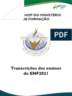 Workshop do Ministério de Formação - Transcrições dos ensinos do ENF2021