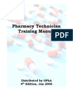 Pharmacy Tech Manual