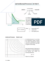 Adiabatic and Isothermal Processes