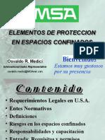 EPP para espacios confinados