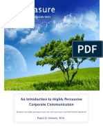 An Introduction to Highly Persuasive Corporate Communication