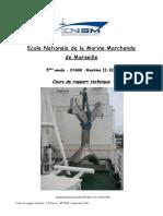 cours de rapport O1 2011-2012